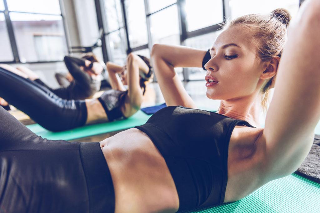 joga, joginka, ćwiczenia